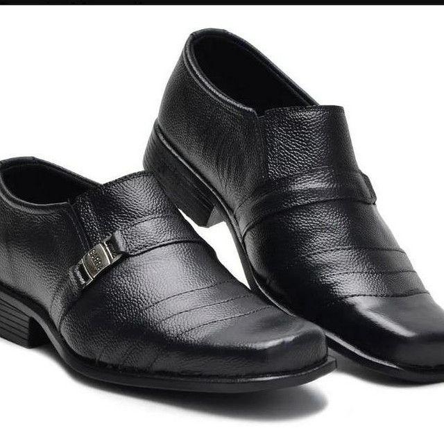 Sapato social couro bovino - Foto 3