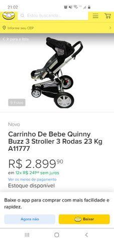 Carrinho de Bebê + bb conforto Quinny Buzz - Foto 5