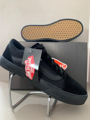 Vans old skool Preto - Foto 6
