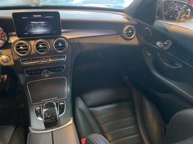 Mercedes-Benz C300 2.0 Sport 9G-Tronic 2018,Configuração Linda,Impecável  - Foto 9