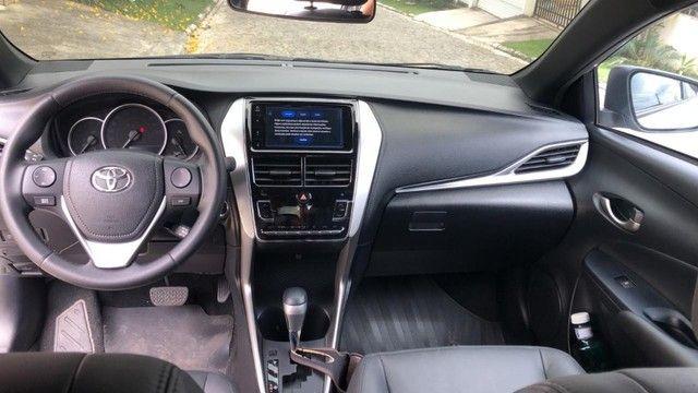 Toyota Yaris XL 2020 Aut. - 3 mil km - Somente isso ((((( 3 MIL )))))  - Foto 7