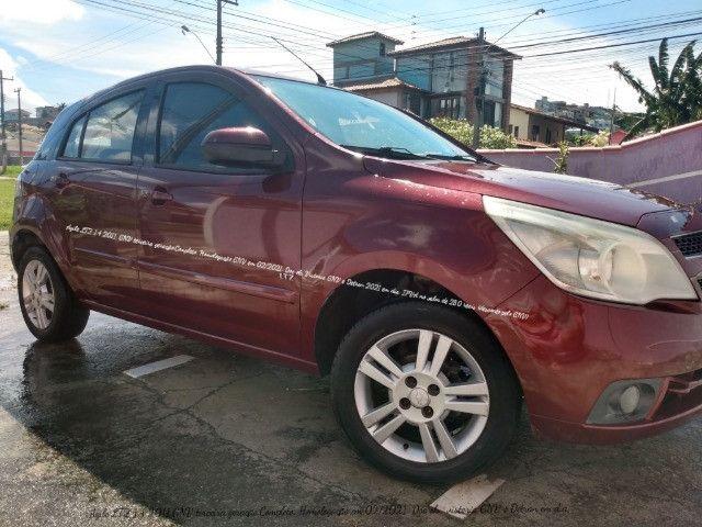 Chevrolet Agile LTZ 1.4 2011 GNV Vermelho