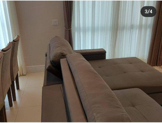 Sofá 2 módulos com assento retrátil e encosto articulado - Foto 3