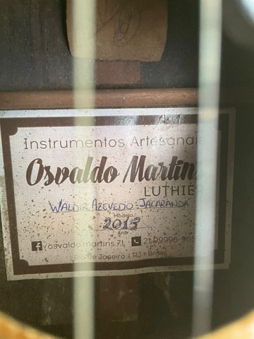 Cavaco Osvaldo Luthier de Jacarandá