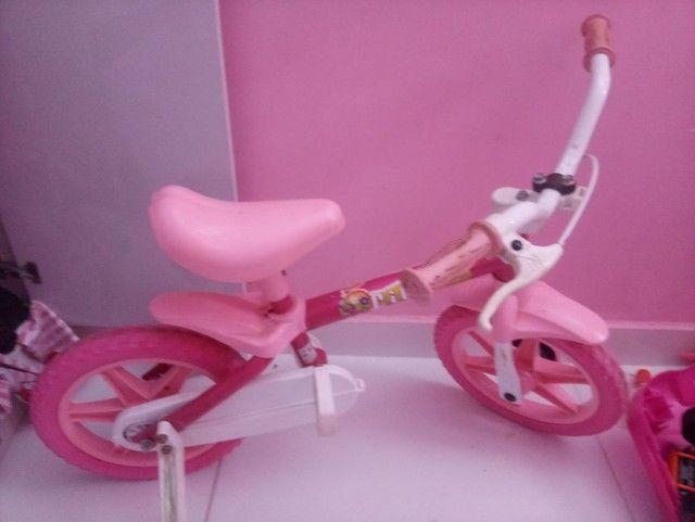 Bicicleta para menina de 1 a 3 anos - Foto 3