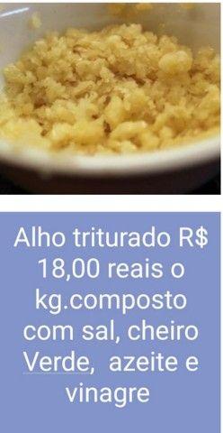 Alho graúdo a partir de 15 reais o kilo - Foto 3