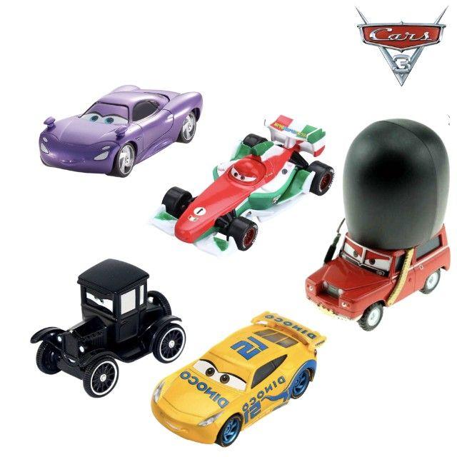 KIT com 5 Carros - Disney 1:55 - Foto 3