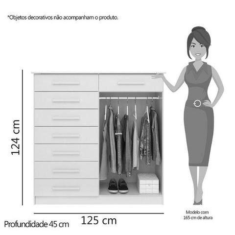 Oferta Imperdivel Comoda New 8 Gavetas /// - Foto 2