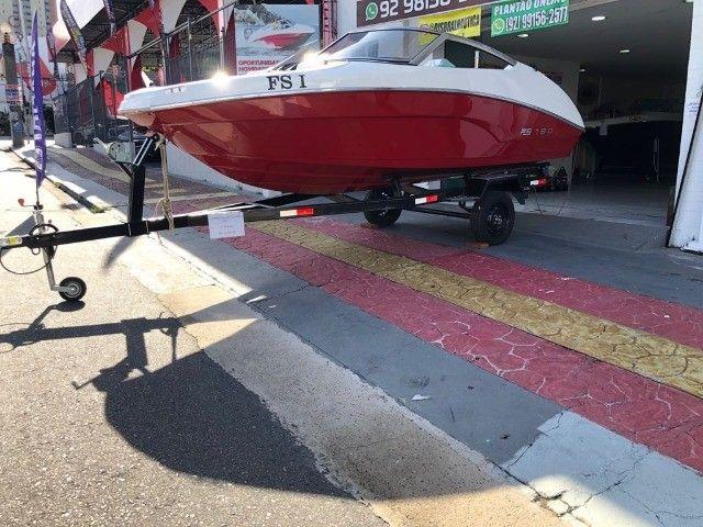 Barco com Motor Yamaha 90 HP  - Foto 3