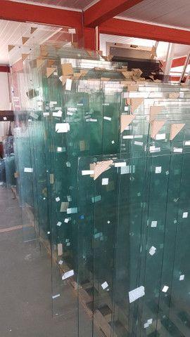 Vidros temperados sem furos 6, 8 e 10mm (medidas na descrição)