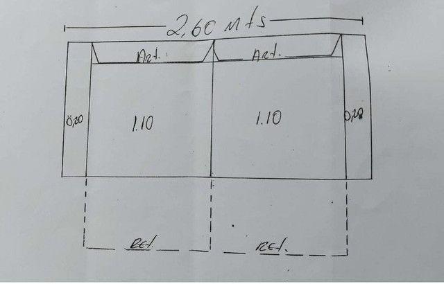 Sofá 2 módulos com assento retrátil e encosto articulado - Foto 4
