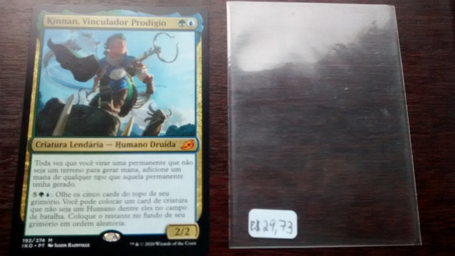 Vendo magic Kinnan, Vinculador prodígio