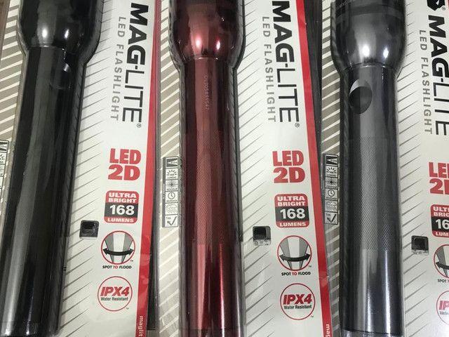 Lanternas Mag lite originais 2 elementos novas - Foto 2