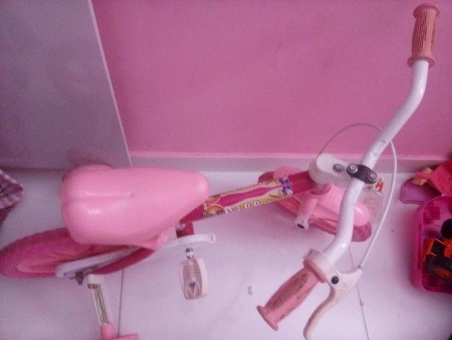 Bicicleta para menina de 1 a 3 anos
