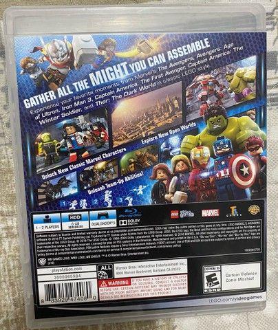 Lego Marvel Avengers Vingadores Ps3 Original Mídia Física - Foto 2