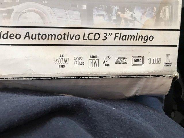 Rádio automotivo com lcd USB controle  - Foto 3