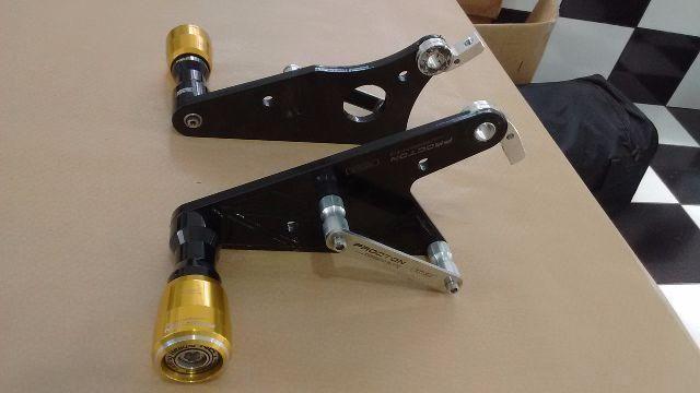 Slider com suporte Honda CBR 600 RR 2010 até 2013 - Foto 3