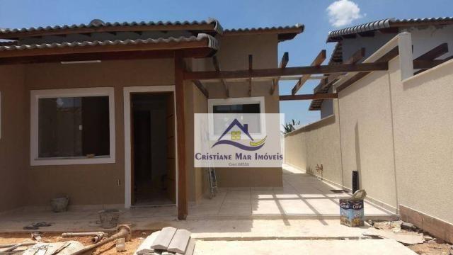 Casa com 2 dormitórios, piscina e churrasqueira à venda, 90 m² por R$ 285.000 - Jardim Atl