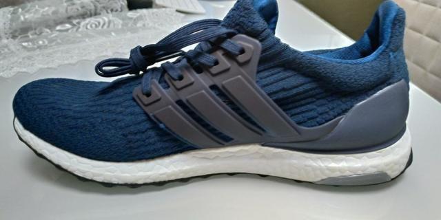 Tenis Adidas ultra boost 3.0 azul marinho 42 10US novo importado pronta  entrega e2e292413f813