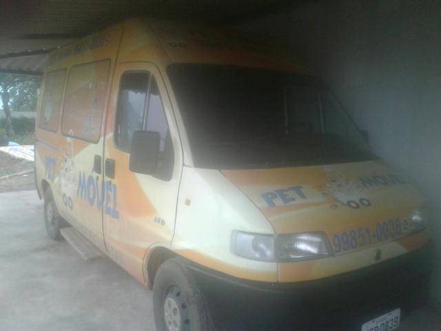 Fiat ducato teto alto pet shop movel (food truck)