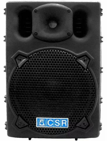 Caixa acústica csr 2500a usb/sd ativa