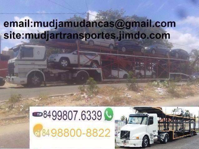 Transportes de Veículos - Para todo Brasil com Seguro