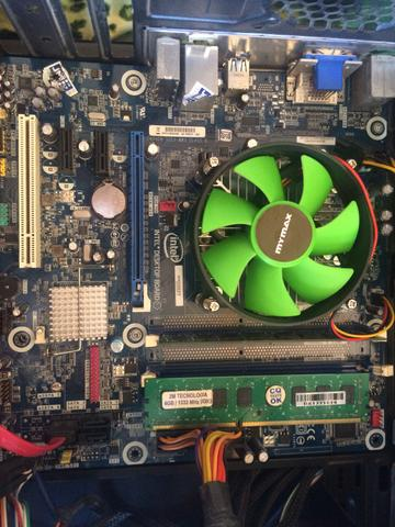 Kit Intel i5 661, 8gb 2x4. Valor 550,00