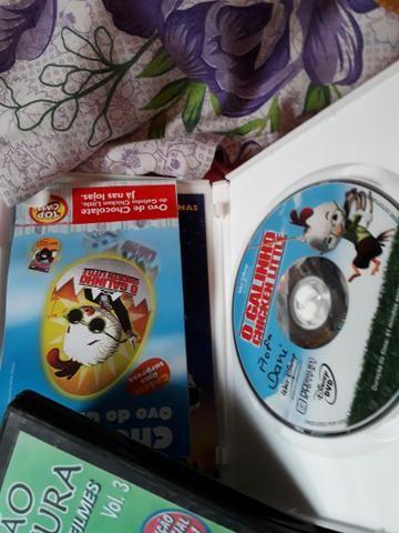 Pacote de DVDs