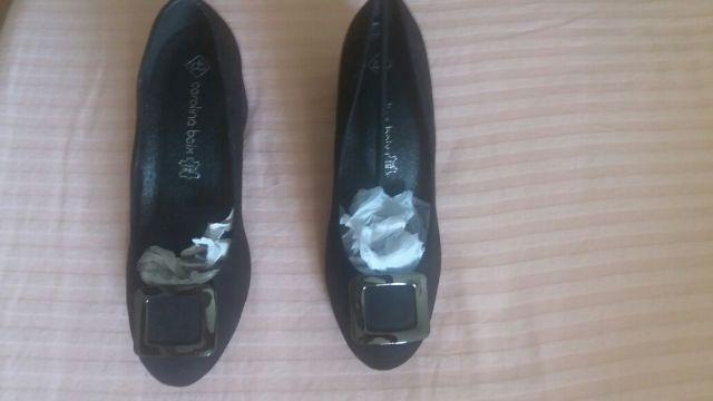 Sapato Preto Carolina Boix
