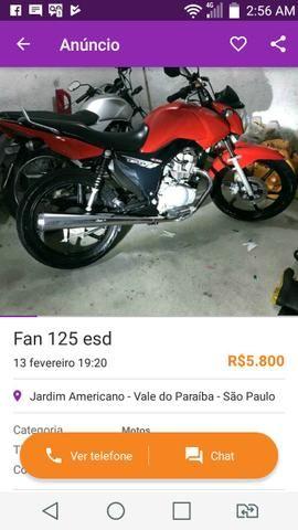 Compro moto cg 150 com multa
