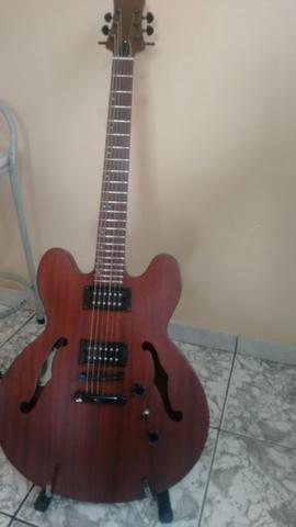 Guitarra semi acústica caps malagoli, ferragens Gotoh !!