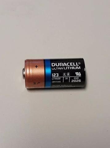 Bateria Duracell Dl123a Cr123a - Ultra Lithium (cr17345)