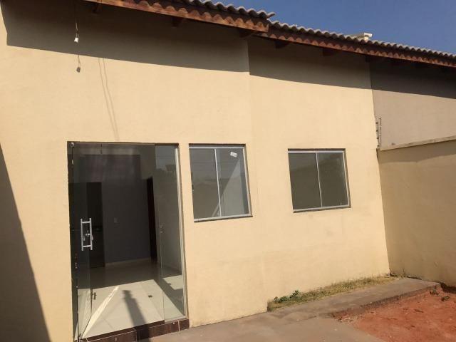 Casa 2 Quartos, Residencial Rio Verde, 1 Suíte, financia, nova, minha casa minha vida - Foto 2