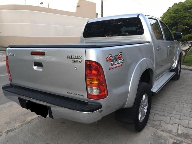 HILUX SRV CD 3.0 D-4D 4x4 DIESEL AUTOMÁTICA 2011/2011 - Foto 6