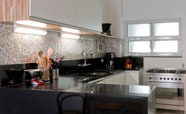 Cozinha em preto, linda!