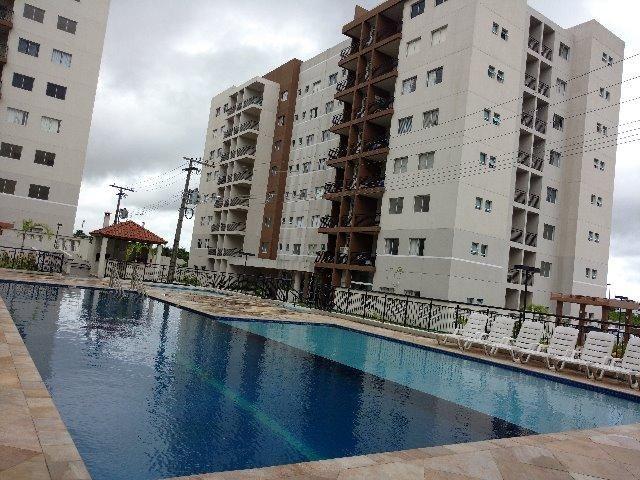 Apto.85 m², nascente, climatizado, modulados, 03 qtos,01 suíte, cd. Flex Tapajos - Foto 2