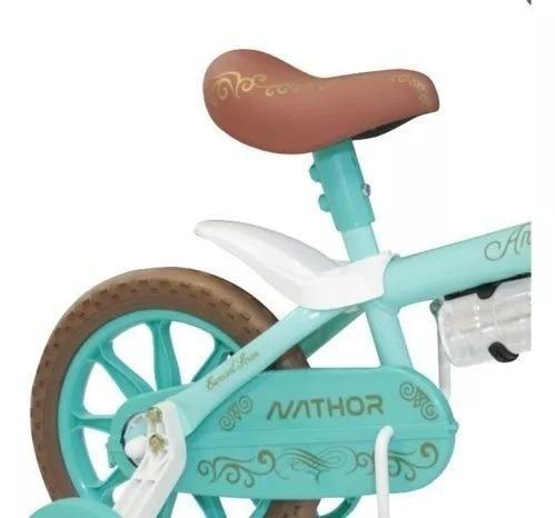 Bicicleta Aro 12 Nathor Feminina c/ Selim de Espuma - Foto 2