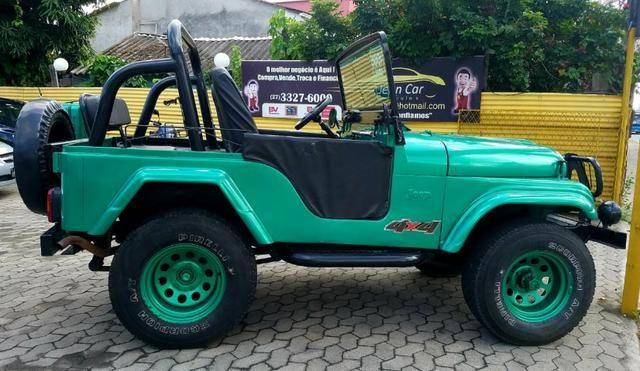 Jeep Willys 4x4 gasolina 1966/66. Muito novo. Raridade! Confira! - Foto 3