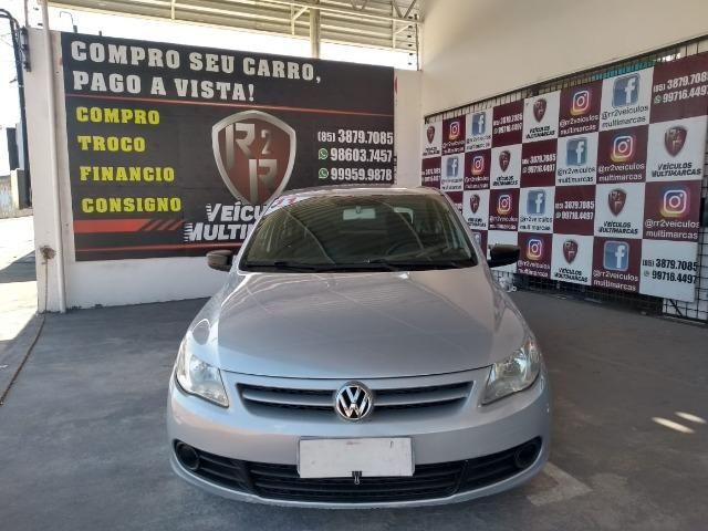 VW - Gol Trend 1.0 Flex, Ar, Dh, Vid, Trava, Som, Pneus Novos, Revisado, Garantia - Foto 3