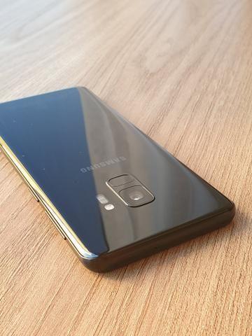 Samsung Galaxy s9 Preto 128 Gb-Impecável - Foto 2