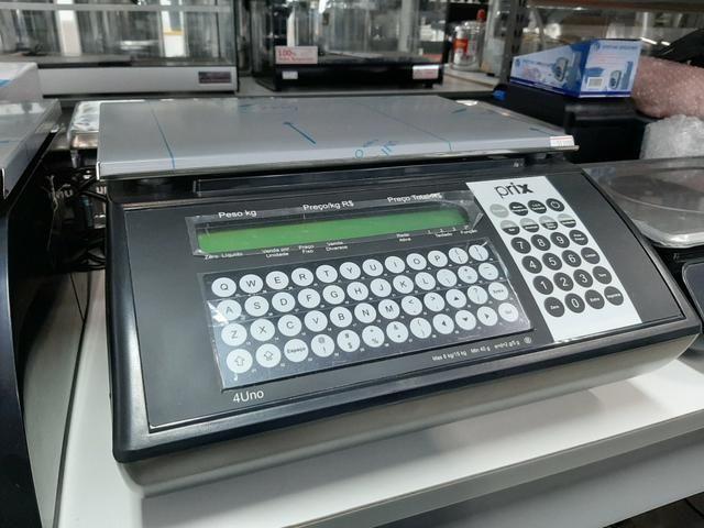 Balança com etiquetadora de 15kg salva até mil itens na memória jean - Foto 2