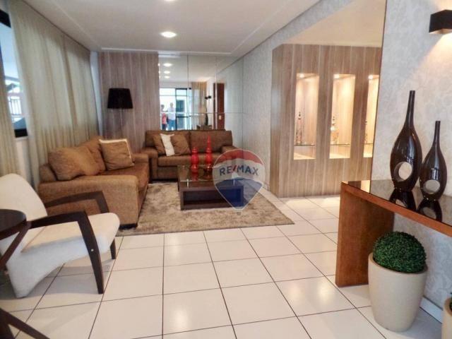 Apartamento com 3 dormitórios à venda, 97 m² por R$ 400.000,00 - Tirol - Natal/RN - Foto 17
