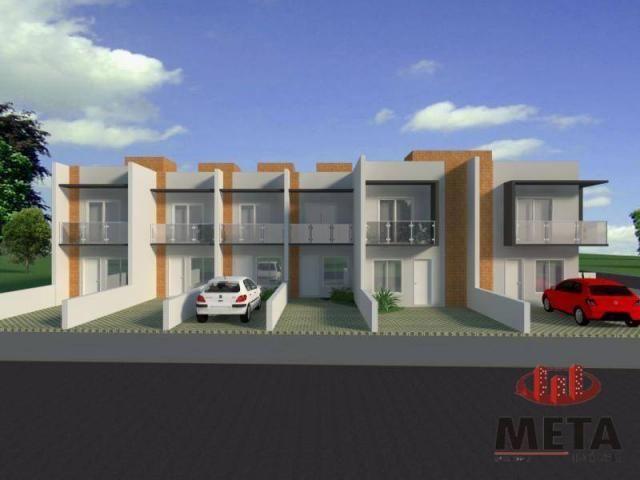 Sobrado com 2 dormitórios à venda, 68 m² por R$ 194.000,00 - Espinheiros - Joinville/SC - Foto 5
