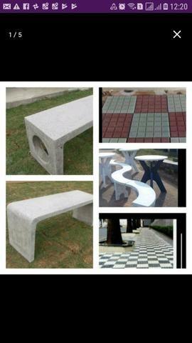 Fabricamos Bancos de concreto - Foto 4