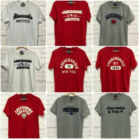 T-shirt Abercrombie & Fitch Importada - Foto 5