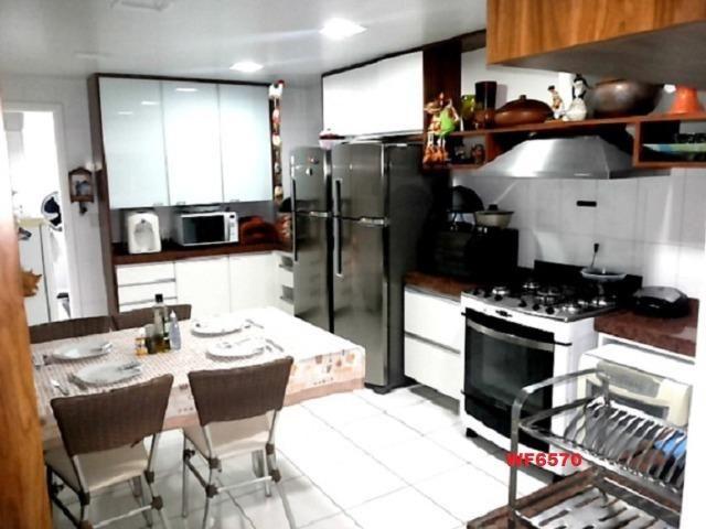Condomínio Villagio Atlântico, Casa duplex nas Dunas com 5 suítes, 4 vagas, Lazer completo - Foto 8
