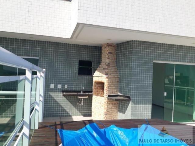 Cobertura para venda em cabo frio, braga, 4 dormitórios, 2 suítes, 3 banheiros, 2 vagas - Foto 4
