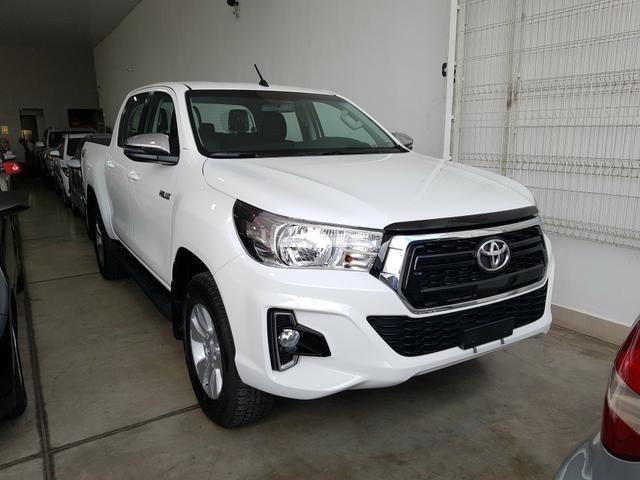 Toyota Hilux SR CD 2.8 Diesel 4x4 Aut 19/20 0km IPVA 2020 pago