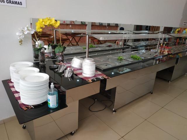 Self service buffet em tam. e mod. diferentes (restaurantes) - NOVO - Foto 3