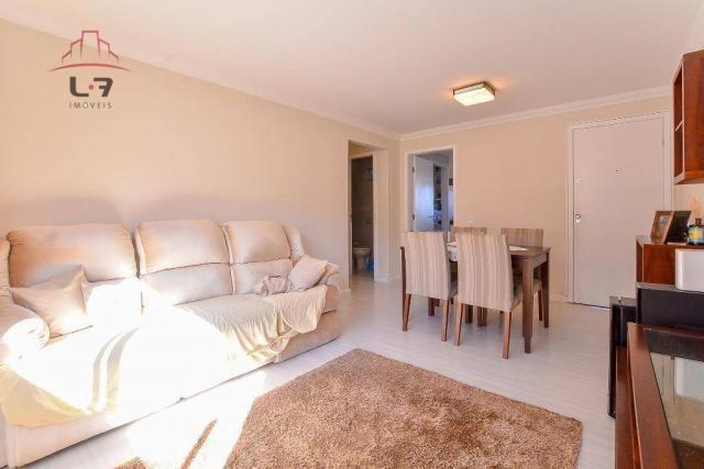 Apartamento com 3 dormitórios à venda, 79 m² por R$ 310.000,00 - Bacacheri - Curitiba/PR - Foto 4